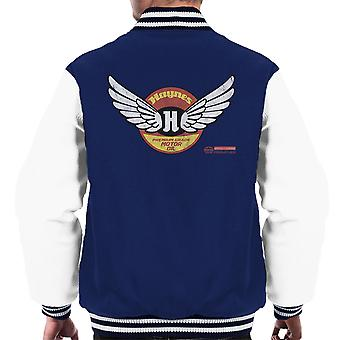 Haynes Brand Wings Premium Grade Motor Oil Men's Varsity Jacket