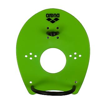 Arena Elite Hand Paddle - zure Lime