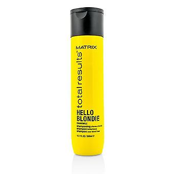 Matrix Total Results Hello Blondie Chamomile Shampoo (for Brillance) - 300ml/10.1oz