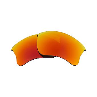 Polarized Replacement Lenses for Oakley Half Jacket 2.0 Frame Red Anti-Scratch Anti-Glare UV400 by SeekOptics