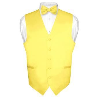 男士连衣裙背心和蝴蝶结实衣和结鞋结扎套装或 Tux