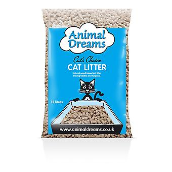 Animal Dreams Wood Cat Litter