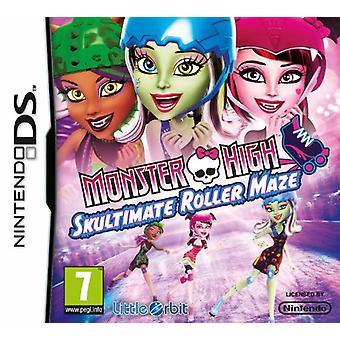 Monster hög Skultimate rulle labyrint (Nintendo DS)-nytt