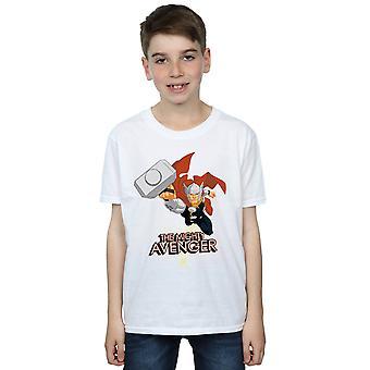 驚嘆の男の子トール強大なアベンジャー t シャツ