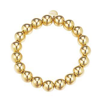 ESPRIT ladies bracelet stainless steel gold bold spheres ESBR11655B160