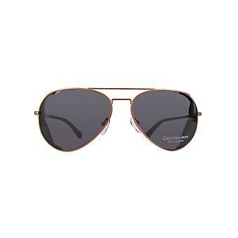 Calvin Klein džíny Sunbrýle CKJ139S-705-60 s MĚDĚNÝM tahem