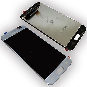 Wyświetlacz LCD kompletny zestaw GH96 10992A srebrny do Samsung Galaxy J3 2017 J330F