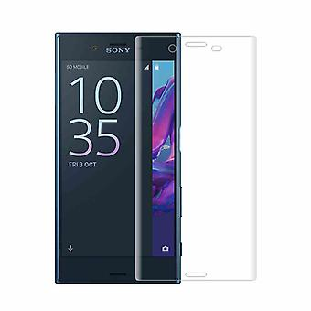 4 d curved 0.3 mm H9 hard glass transparency film for Sony Xperia XZ2 protection cover new