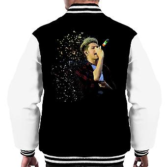 Niall Horan Of One Direction Murrayfield Stadium 2014 Men's Varsity Jacket