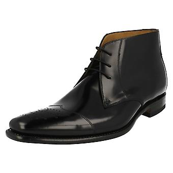 Mens Loake Smart Lace Up Ankle Boots Venture