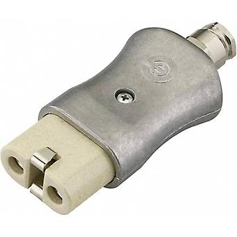 Kalthoff 344K/A/PG Hot wire connector 344 Series (mains connectors) 344 Socket, straight Total number of pins: 2 + PE 16 A Aluminium 1 pc(s)