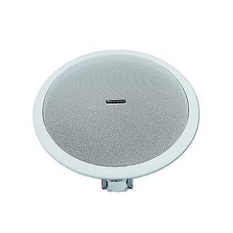 Omnitronic CSE-8 Flush Mount Lautsprecher 10 W 100 V Weiß 1 Stk.