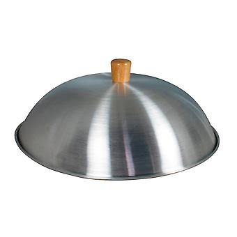 "Swift Spice Aluminium Dome Wok Lid - 32cm for 14"" Wok"