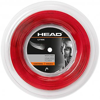 Head Lynx 200 m reel Red