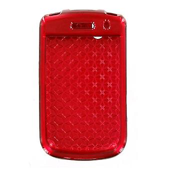 BlackBerry Bold 9650 Tour 9630 Snap sur l'affaire - rouge (emballage en vrac)