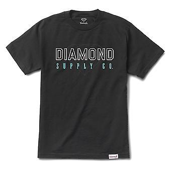 Diamond Supply Co College T-shirt Black