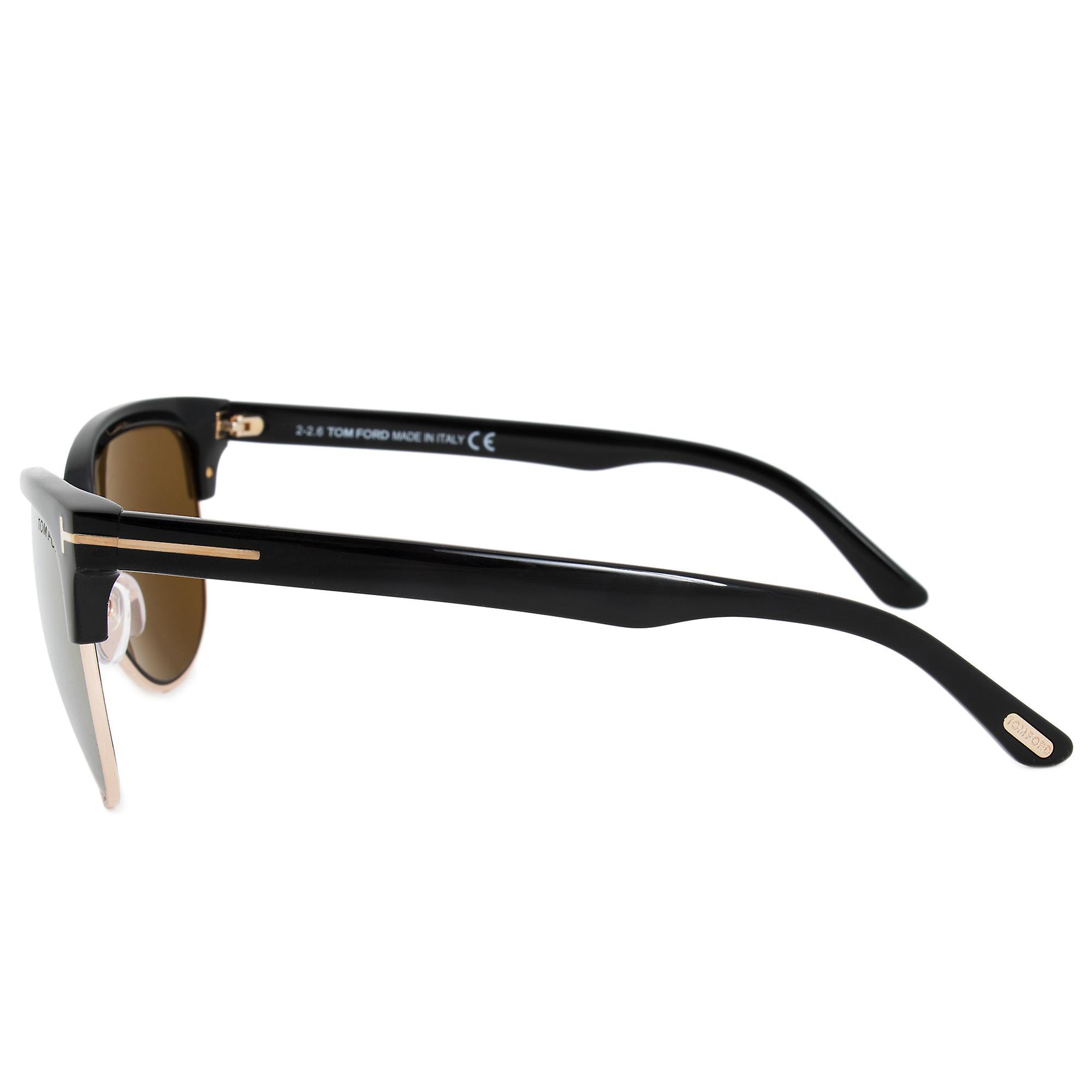 Tom Ford Fany Cat-Eye Sunglasses FT0368 01G 59