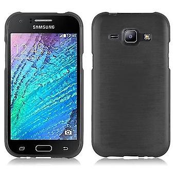 Cadorabo Case for Samsung Galaxy J1 2015 Case Cover - Mobile Phone Case made of flexible TPU silicone - Silicone Case Protective Case Ultra Slim Soft Back Cover Case Bumper