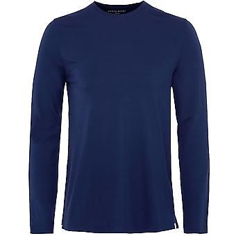 Derek Rose Long Sleeve Basel T-Shirt