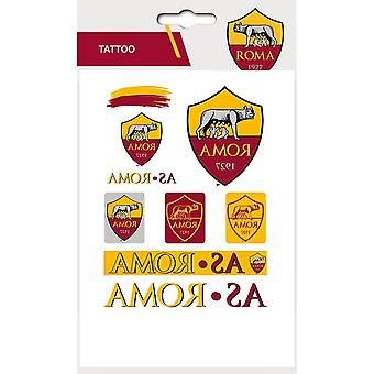 AS Roma Adhesive Tattoo Pack
