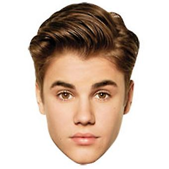 Justin Bieber Card Fancy Dress Mask