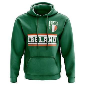 España fútbol base país Hoody (verde)