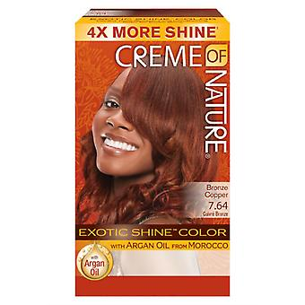 Creme of Nature Exotic Shine Colour Bronze Copper 7.64