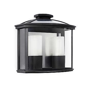 Faro - Cérès noir Double paroi extérieure lumineuse FARO71608