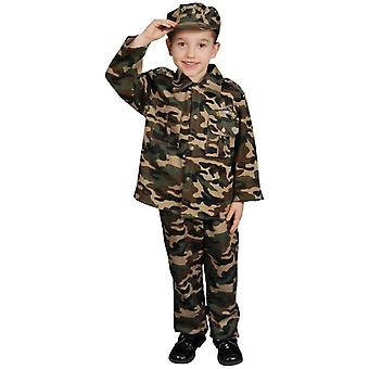 Army Man Child Costume