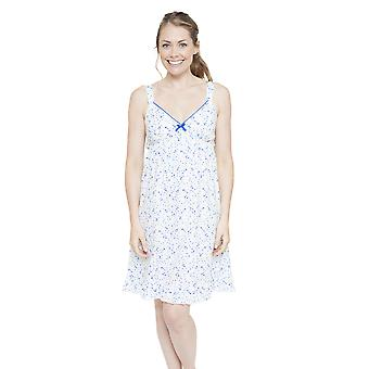 Cyberjammies 4134 kobiet Mia biały zauważył noc suknia Gama Piżam Koszula nocna