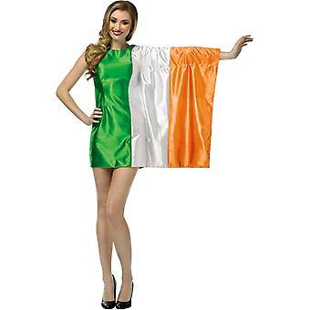 Costume adulte de drapeau Irlande