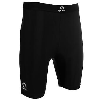 Optimum Kids Junior Cotton Lycra Training Baselayer Short - Black