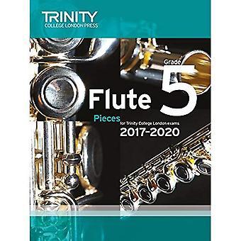 Trinity College London: Flöjt examen bitar Grade 5 2017 – 2020 (poäng & del)
