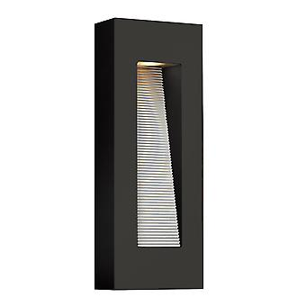 Elstead-medium LED wandlamp-satijn zwart-HK/LUNA/M SK