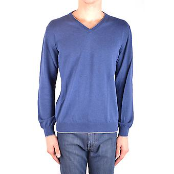 Altea Ezbc048113 Men's Blue Cotton Sweater