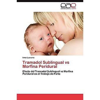 Tramadol Sublingual Vs Morfina Peridural by Luevano & Irma