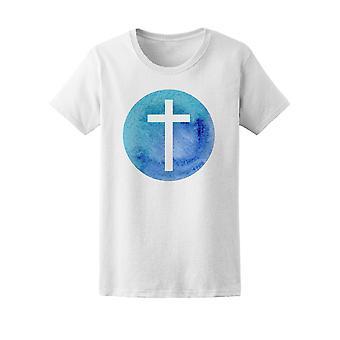 Christ Jesus Kreuz T-Shirt Herren-Bild von Shutterstock