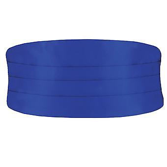 Dobell Mens Royal Blue Cummerbund