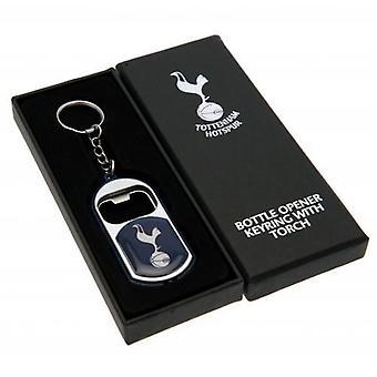 Tottenham Hotspur Schlüsselanhänger Taschenlampe Flaschenöffner