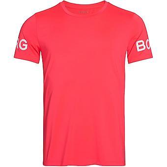 Björn Borg Hydro Pro Active T-Shirt, Diva Pink