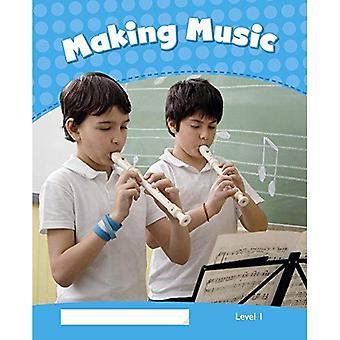 Pinguïn kinderen 1 maken muziek Reader CLIL (Penguin kinderen (Graded lezers))