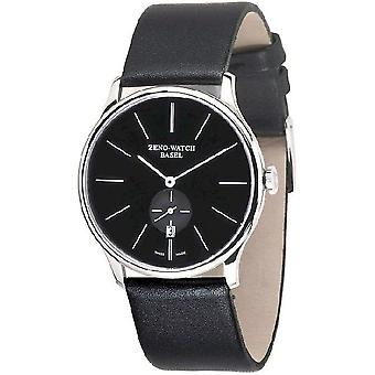 Zeno-horloge heren horloge plat Bauhaus quartz 6493Q-i1