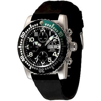 Zeno-watch mens watch airplane diver automatic chronograph 6349TVDD-12-a1-8