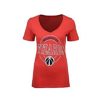 Washington Wizards NBA 4Her Circle Glitter Tee
