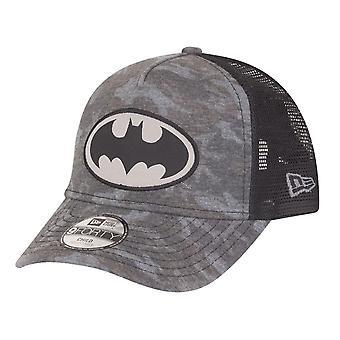 New Era 9Forty Trucker Kids Cap - Batman dark camo