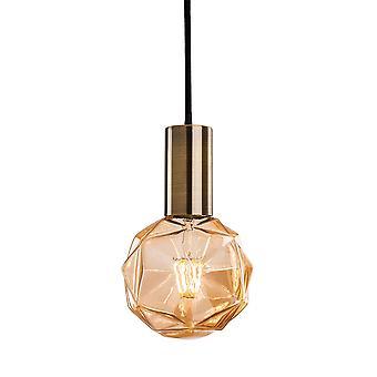 Firstlight - 1 Light Ceiling Pendant Antique Brass - 4932