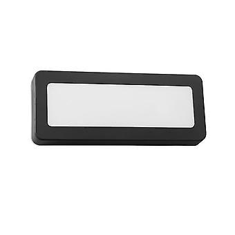 Forlight - Grove Rectangular LED lámpara de pared al aire libre PX-0281-NEG