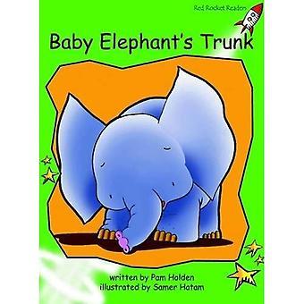 Baby olifanten trunk: niveau 4: vroeg (rode raket lezers: fictie set)