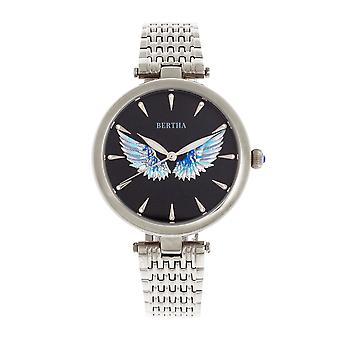 Bertha Micah Bracelet Watch - Silver