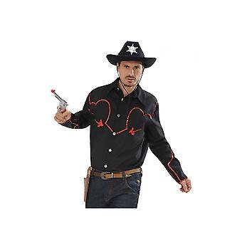 Männer Kostüme Country Western Cowboy Shirt